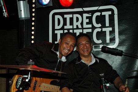 Rico & Jeffery ( Basist en Drummer )